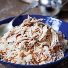 Tavuklu Arpa Şehriyeli Pirinç Pilavı