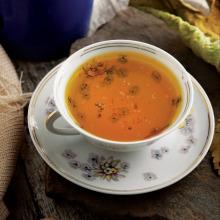 Kişnişli Safran Çayı