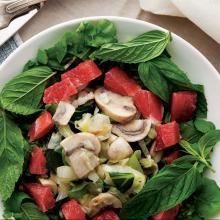 Sotelenmiş Sebze Salatası