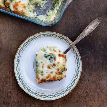 Brokoli ve Karnabaharlı Patates Graten