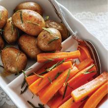 Haşlanmış Baharatlı Sebzeler