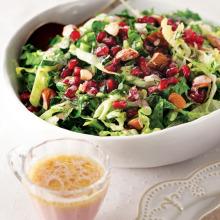 Pembe Soslu Kış Salatası