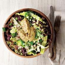 Patlıcanlı Buğday Salatası