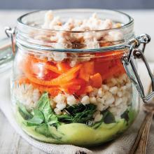 Kavanozda Ton Balıklı Salata