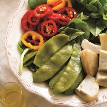 Bahar Sebzeli Semizotu Salatası