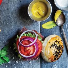 Pekmezli Burger Ekmeği