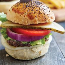 Renkli Klasik Burger