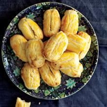 Ananas Dolgulu Kurabiye