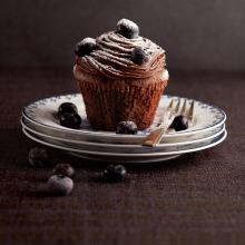 Sütlü Çikolatalı Cupcake