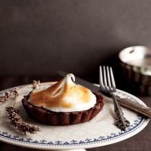 Lavantalı Çikolatalı Tart