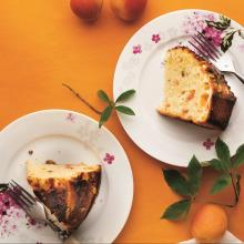 Kayısılı Kakuleli ve Gül Sulu Kek