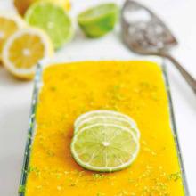 Çaylı Limonlu Sütlü Tatlı