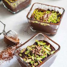 Fıstıklı Çikolatalı Puding