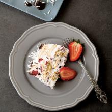 Beyaz Çikolatalı Çilekli Mozaik Pasta