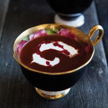 Frambuazlı Sıcak Çikolata