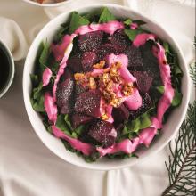 Pancarlı Ispanak Salatası