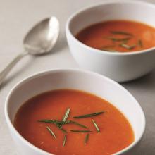 Biberiyeli Domates Çorbası
