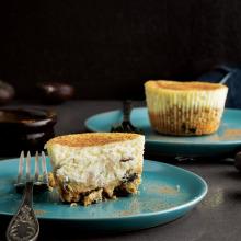 Tarçınlı Kestaneli Cheesecake