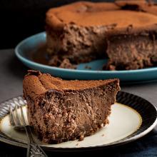Çikolatalı ve Portakallı Cheesecake