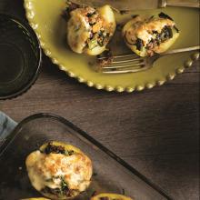 Ispanaklı Patates Dolması