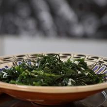 Sıcak Roka Salatası