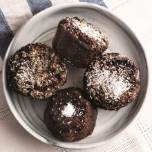 Elma ve Tatlı Patatesli Muffin