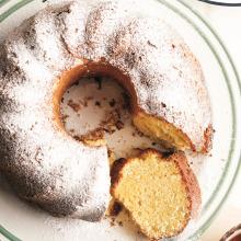 Yoğurtlu Vanilyalı Kek