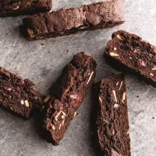 Çikolata ve Fındıklı Biscotti
