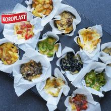 Muffin Kalıplarında Omlet