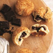 Çikolata ve Hindistan Cevizli Çörek
