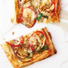 Tavuklu Milföy Pizza