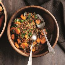 Havuçlu Karabuğdaylı Tohum Salata