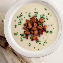 Patatesli Pırasa Çorbası
