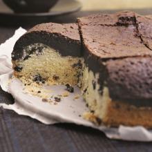 Kurabiye Tabanlı Brownie Kek