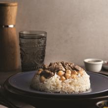Etli Nohutlu Pirinç Pilavı
