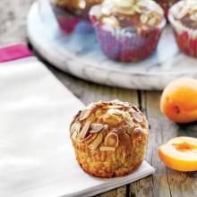 Kayısılı Tam Buğday Unlu Muffin