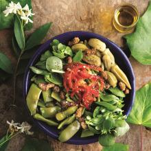 Soğuk Fasulye Salatası