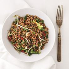 Demlenmiş Karabuğday Salatası