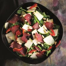 Pastırma ve Armutlu Salata