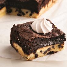 Kurabiye Tabanlı Brownie