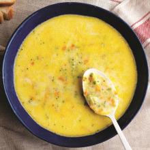 Artan Brokoliden Kremalı Çorba
