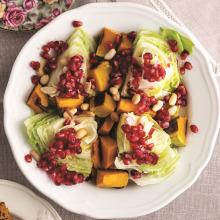 Közlenmiş Bal Kabaklı Salata