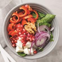 Rokalı Mevsim Salatası