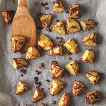 Vanilyalı Fındıklı Fırın Patates