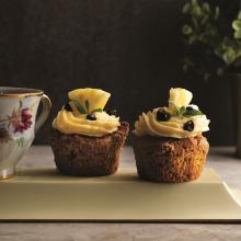 Bol Baharatlı Ananaslı Cupcake