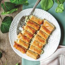 Peynirli ve Otlu Pratik Börek