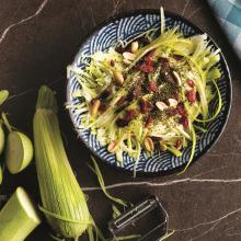 Yer Fıstıklı Kabak Salatası