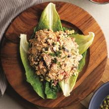 Zeytinli Kırık Mısırlı Tavuk Salata