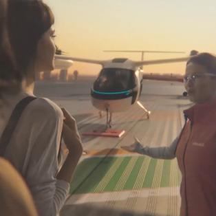 Uber'in yolcu uçağı ile tanışın: UberCopter
