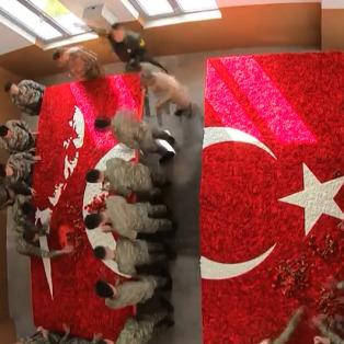 Anıtkabir'i 10 Kasım törenine askerler hazırladı